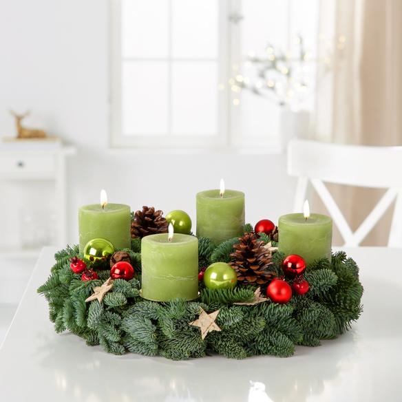 Adventskranz  Weihnachtszeit
