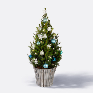 Weihnachtsbaum Winter Magic ca. 80 cm