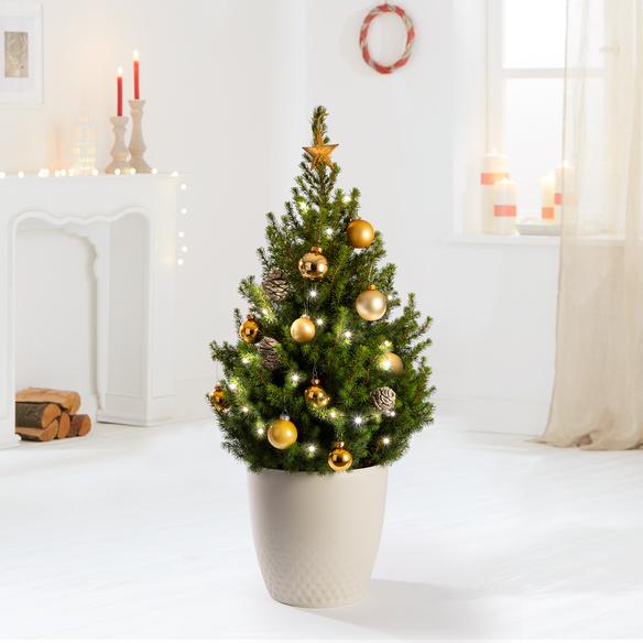 Weihnachtsbaum XXL Goldener Glanz