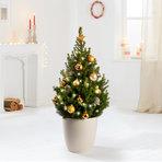 Weihnachtsbaum  Weihnachtsbaum Goldener Glanz ca. 80 cm