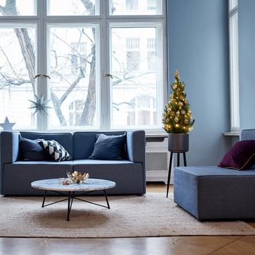 Weihnachtsbaum Goldener Glanz ca. 80 cm
