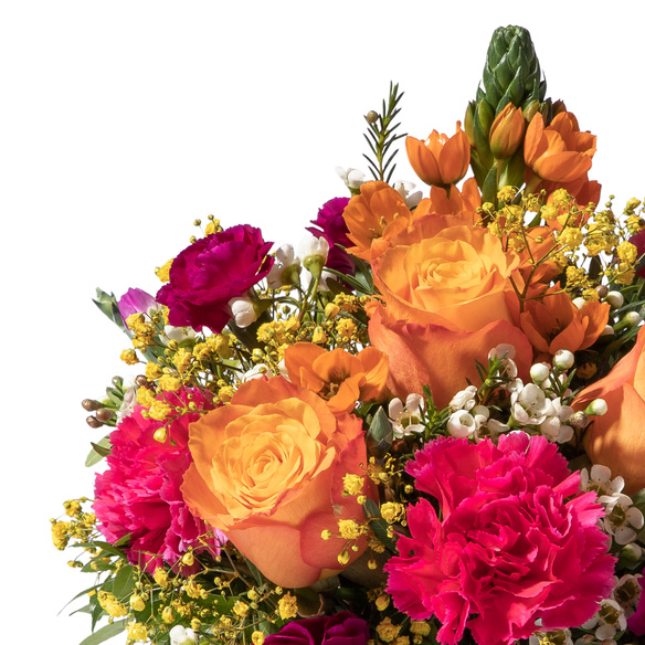 Blumenstrauß  Herzlichen Glückwunsch Größe M