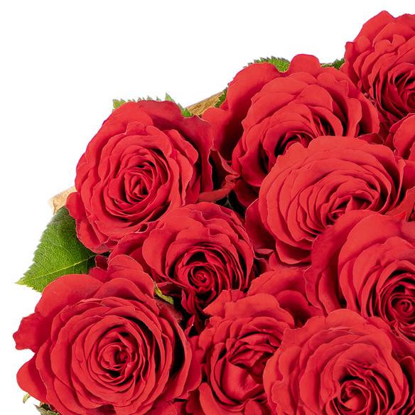 Rosenstrauß  Rosen in Rot 25 Stiele