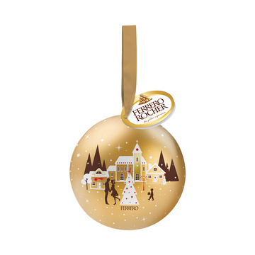 Ferrero Rocher Weihnachtskugel 37 g