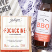 Geschenkset  BBQ Grillset mit Serviette und Focaccine
