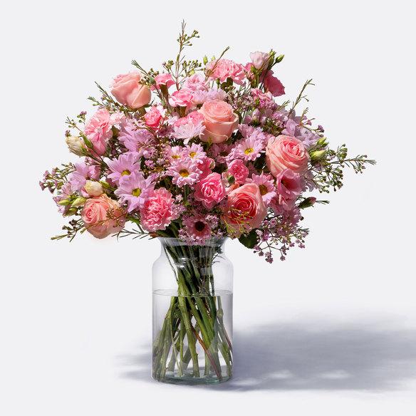 Wiesenstrauß  Traumhaft Rosa Größe L