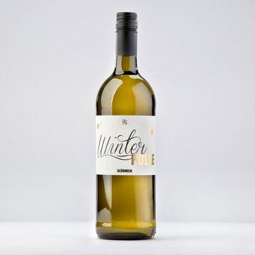 Winterpulle weißer Glühwein 1,0l