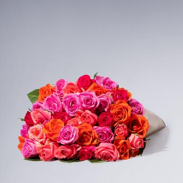 Rosen-Mix Größe L 40 Stiele
