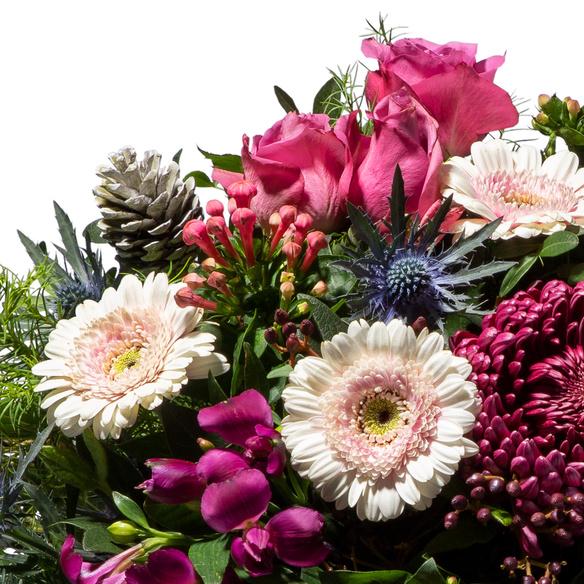 Blumenstrauß  Weihnachtszeit
