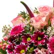 Blumenstrauß  Guten Rutsch