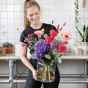Blumenbox Karo