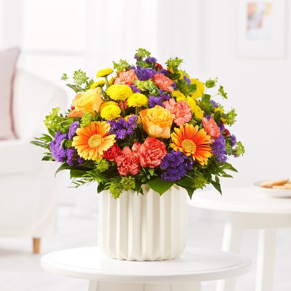 Blumenstrauß  Happy Birthday Größe M
