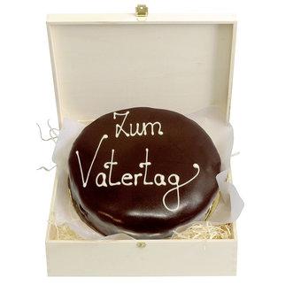 """""""Schokoladentorte"""" nach Sacher Art zum Vatertag"""