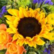 Blumenstrauß  Sonnengruß mit Raffaello