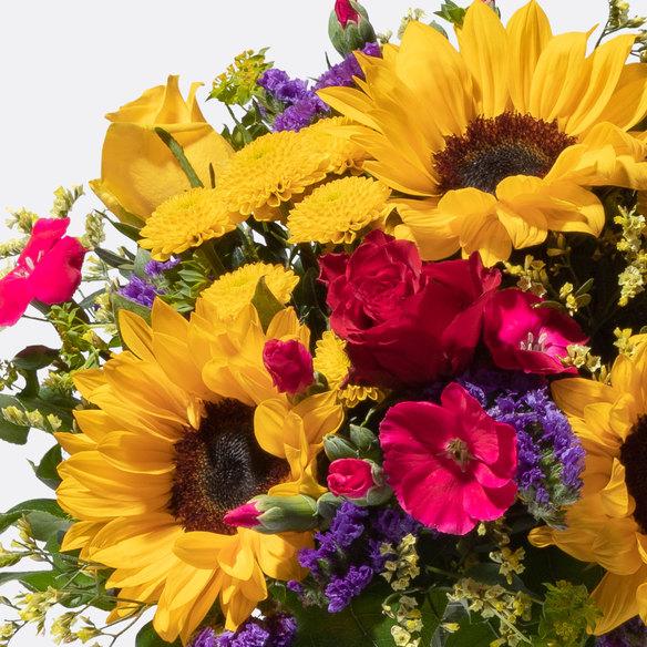 Blumenstrauß  Sonnenlicht