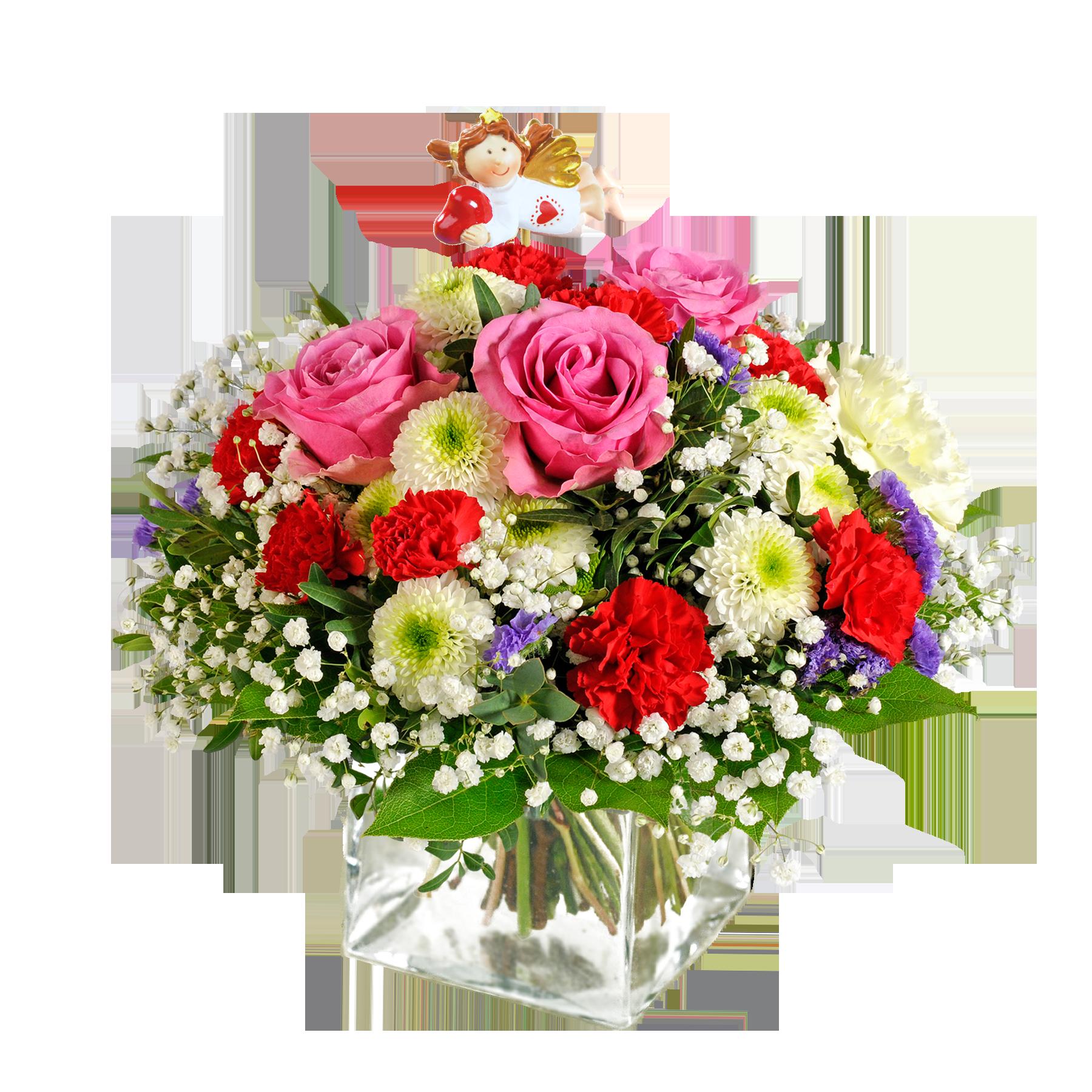 Blumenstrauß  -  - Schutzengel -  -