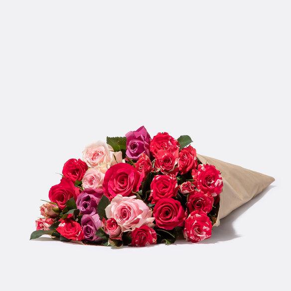 Rosenstrauß  Mellow Roses Größe M