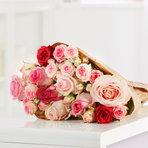 Rosenstrauß  Mellow Roses 10 Stiele
