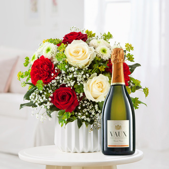 Only for You mit Sekt Vaux Cuvée Brut
