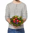 Blumenstrauß  Fröhliches Fest