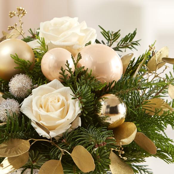 Blumenstrauß  Weihnachtsgruß
