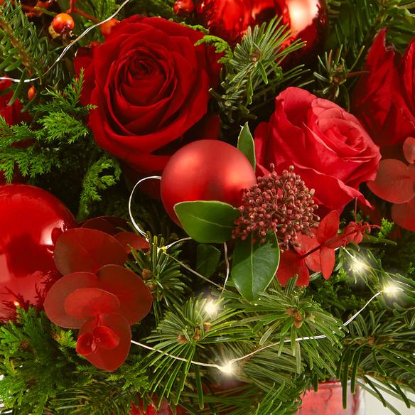 Blumenstrauß  Leuchtende Weihnacht