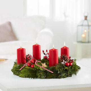 Adventskranz adventsblumen online bestellen for Adventskranz bestellen