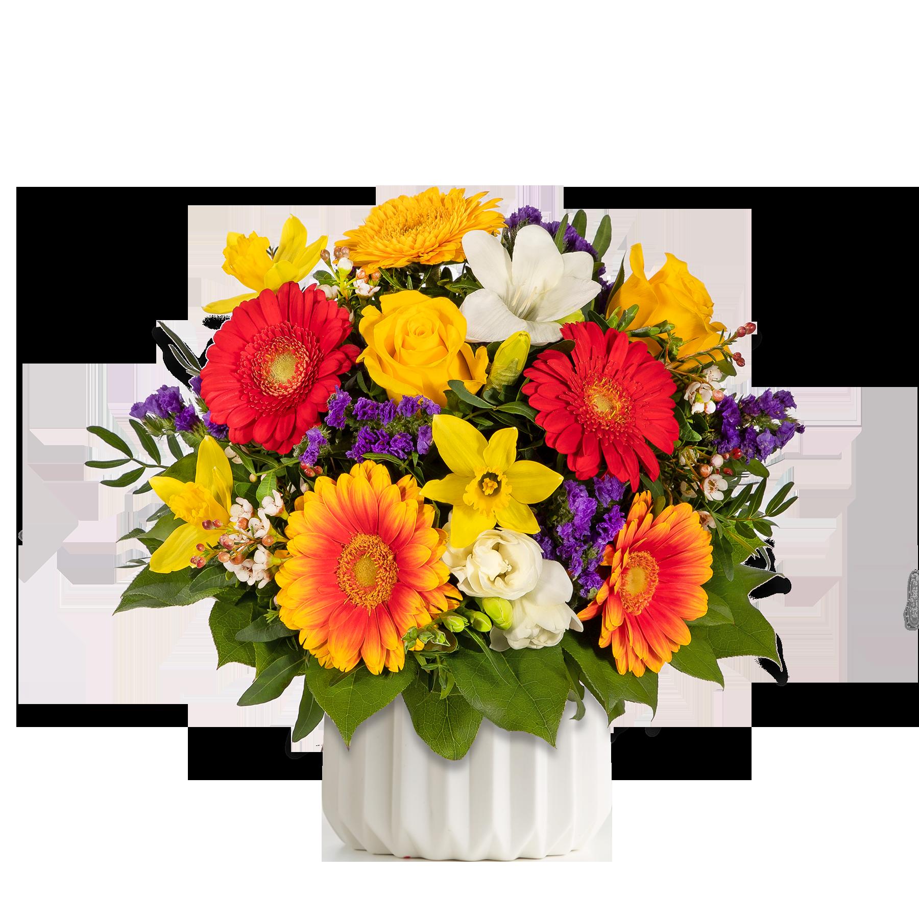 #Blumenstrauß Farbenglück Größe L#