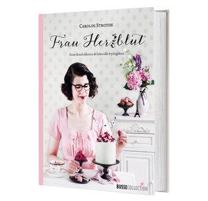 Buch Buch Frau Herzblut in rosa