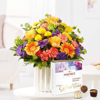 Happy Birthday mit Hachez Zum Geburtstag